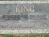 King, Bert William (1908-1999) and Moulds, Opal May (1911-1995) - plaque