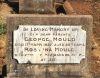Mould, George Thomas (1847-1927) and Turner, Rosanna (1845-1932) - gravestone