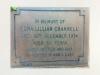 Moulds, Edna Lillian (1914-1974) - plaque