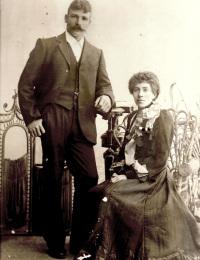 Tinham, Herbert Sidney (1873-1948) and Jewell, Sarah Constance Caroline (1867-1947)
