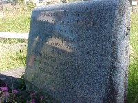 Moulds, George Francis (1898-1932) and Sherwood, Henrietta (1868-1936) - gravestone