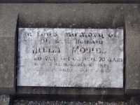 Moulds, Hedley (1892-1963) - gravestone